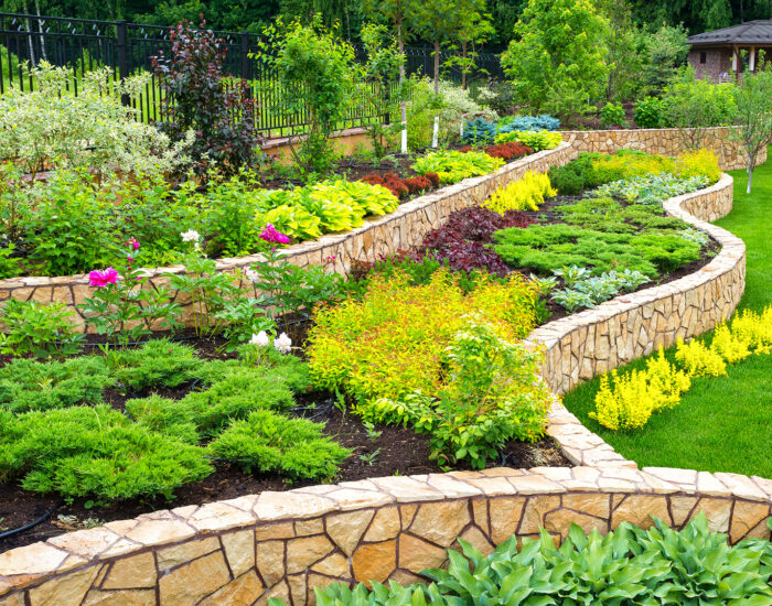 Bigstock Landscaping Panorama Of Home G 320915671