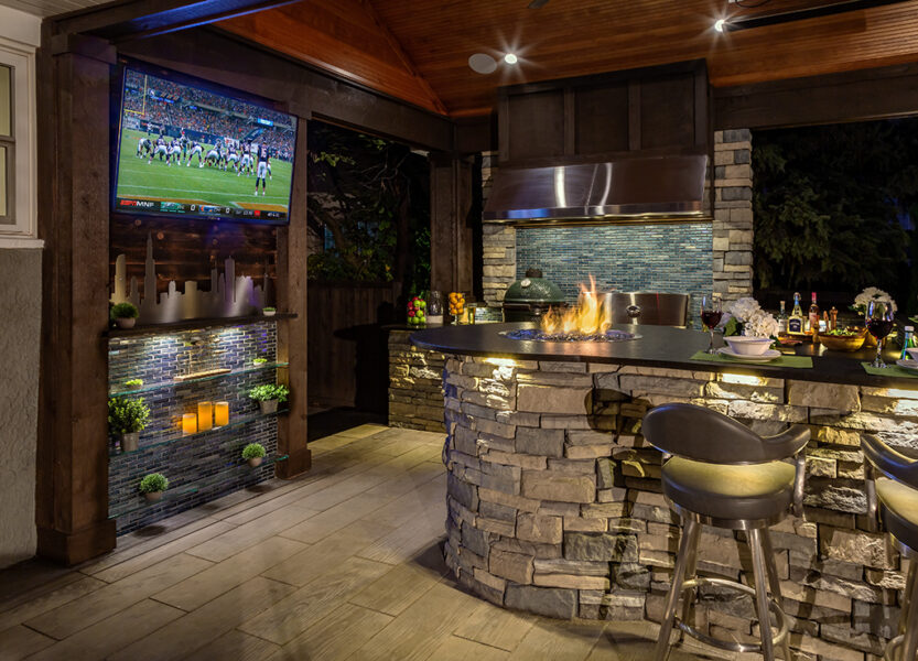 Outdoor Living Fire Feature