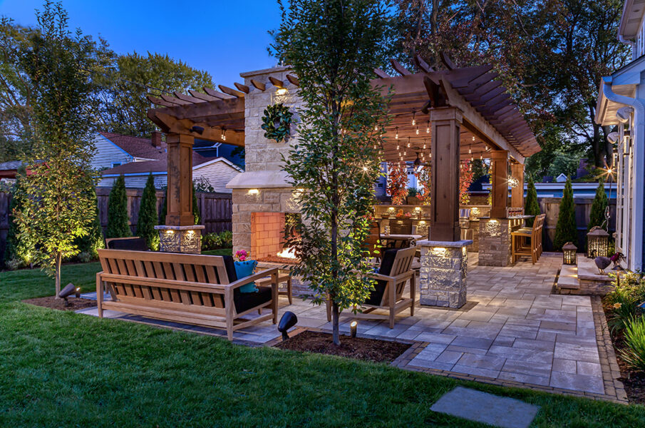 Masonry Outdoor Living Area