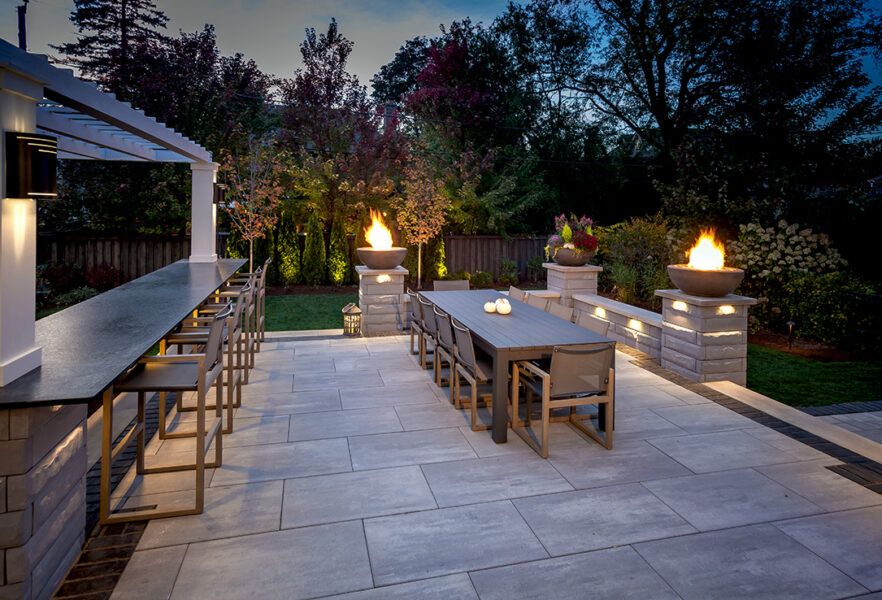 Outdoor Dining Fire Bowls