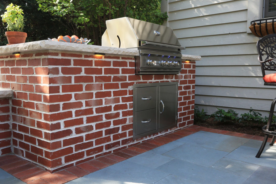 Grill Red Brick