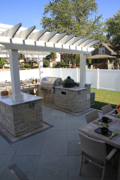 Pergola Kitchen