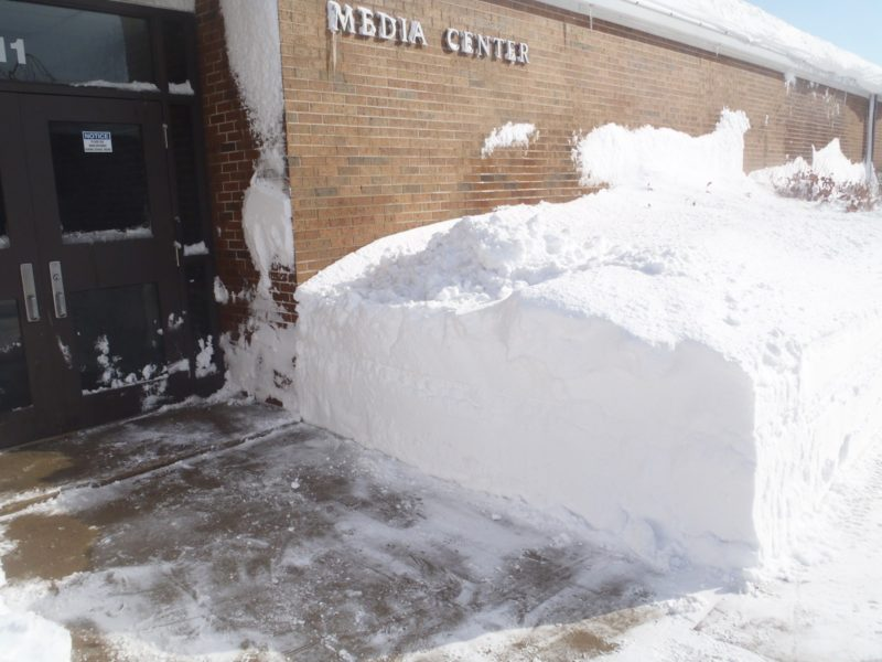 Snow Media Center Cleared