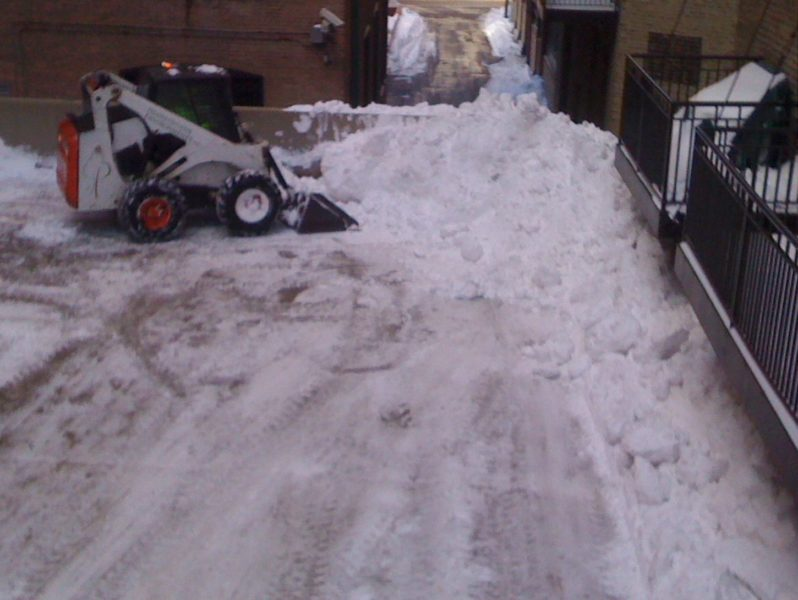 Snow Plow Alley