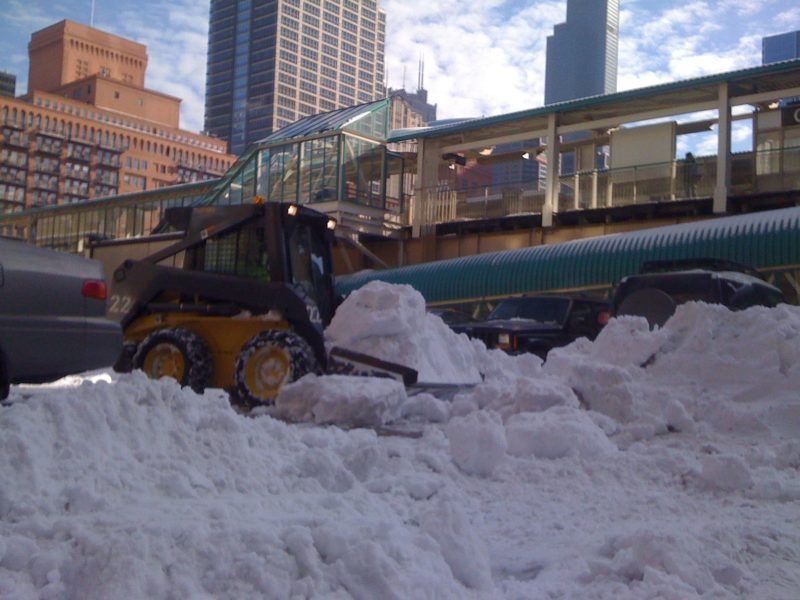 Snow Plow Chicago