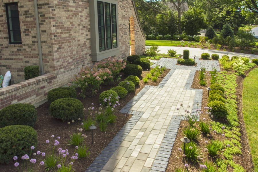 Softscape Front Walk